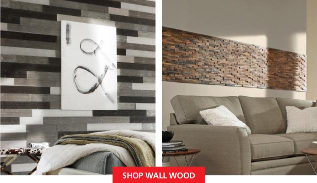 Shop Wall Wood
