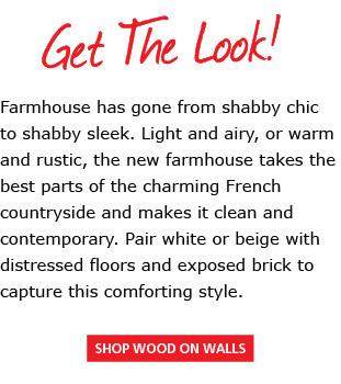 Shop Wood on Walls