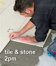 Tile and Stone at 2pm