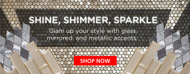Glam Up Your Style With Glass, Mirrored, and Metallic Accents