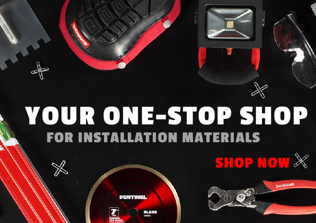 Your One Stop Shop - Installation Materials