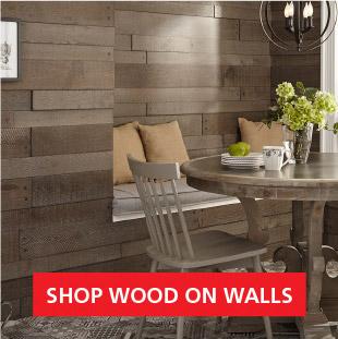 Shop Wood on Walls Image