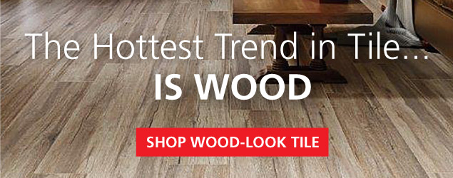 The Hottest Trend in Tile is Wood