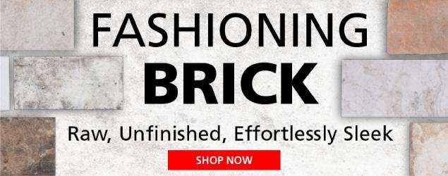 Fashioning Brick