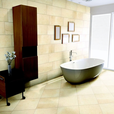 Tiled bathroom Decisions, decisions. When it comes to picking out tile for any room in your house, you may think the only decision is color and size.