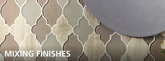Polished Meets Matte: Mixing Finishes