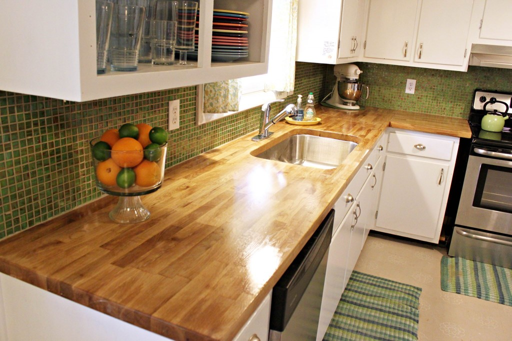 Image Of Butcher Block Countertop