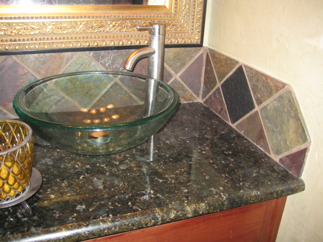 tiled bathroom - Floor And Decor Backsplash