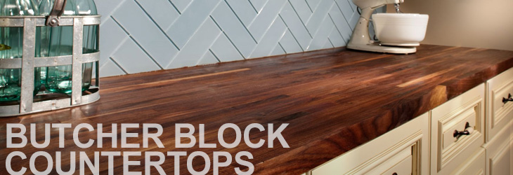 Lovely Butcher Block Countertops