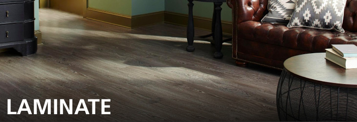 selection of laminate flooring has the authentic look of hardwood ...
