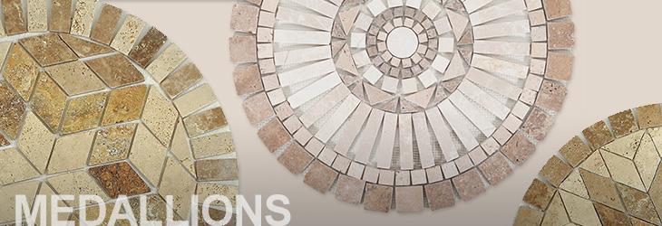 medallions floor decor. Black Bedroom Furniture Sets. Home Design Ideas
