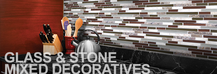 Glass/Stone Mix Decoratives