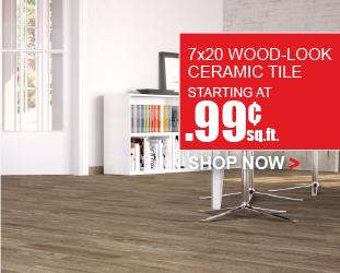 7x20 Wood Look Plank Tile