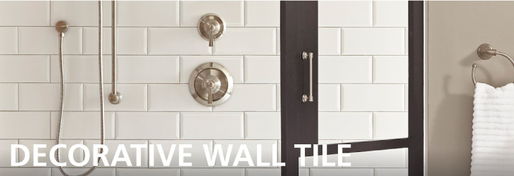 Wall Tile Decoratives Hero Image