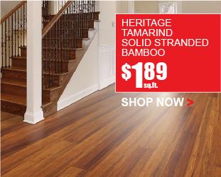 Heritage Tamarind Solid Stranded Bamboo