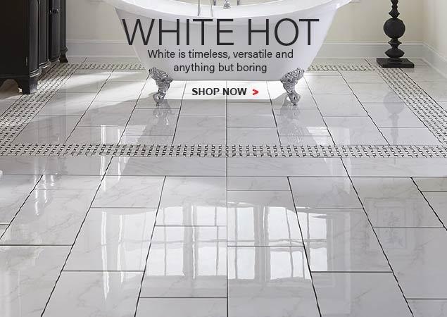 White Hot! Timeless. Versatile. Anything But Boring.