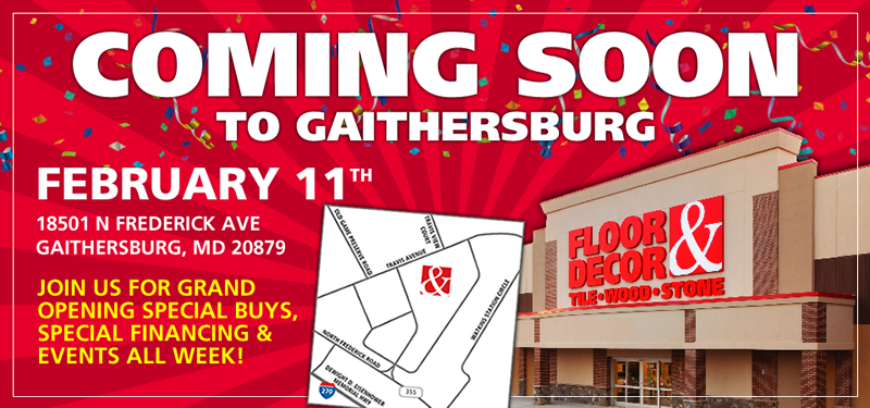 Gaithersburg - Coming Soon!