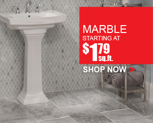 Marble - Starting at $1.79 square foot