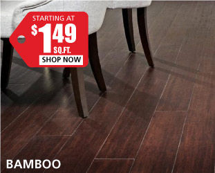 Bamboo starting at $1.49 per square foot