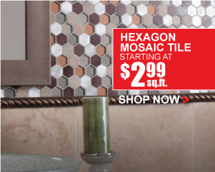 Hexagon Mosaic Tile