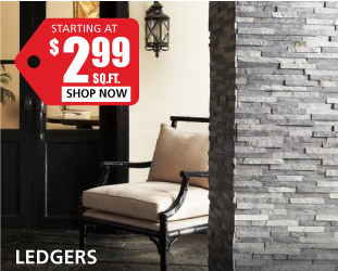 Ledgers starting at $2.99 per square foot
