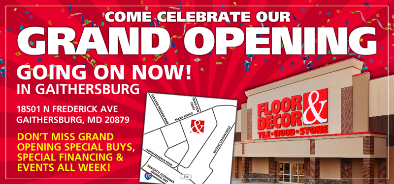 Gaithersburg - Now Open!