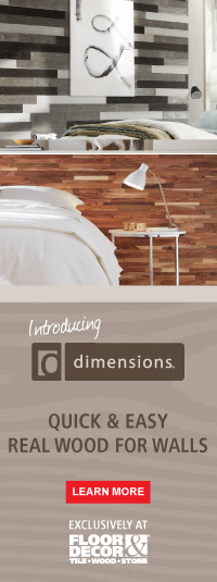Dimensions Wall Wood